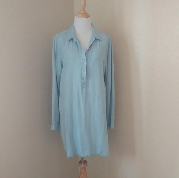 Banana Republic Dresses & Skirts - Banana Republic Denim Chambray Shirt/Tunic Dress